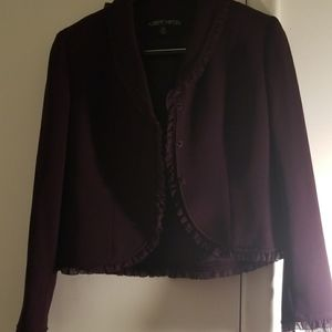 Burgundy Albert Nipon Suit